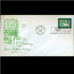 1963 UN First Day Postal Cover (STM-2431)