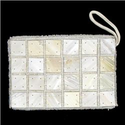 Handcrafted Mother of Pearl Evening Bag (ACT-369)