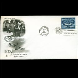 1965 UN First Day Postal Cover (STM-2485)