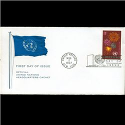 1967 UN First Day Postal Cover (STM-2679)
