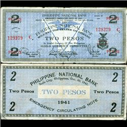 1941 WW2 Guerrilla Rebel Philippines 2P Note Mindinao (CUR-07223)