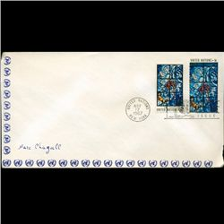 1967 UN First Day Pair Postal Cover (STM-2639)