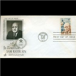1962 US First Day Postal Cover (STM-2398)