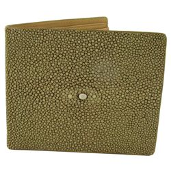 Polished Stingray Skin Skin Mens Wallet (ACT-398)