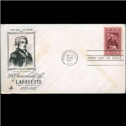 1957 US First Day Postal Cover (STM-2270)