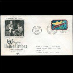 1960 UN First Day Postal Cover (STM-2320)