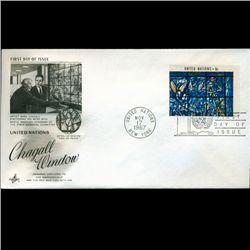 1967 UN First Day Postal Cover (STM-2626)