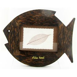 Sugarpalm Wood Photo Frame (DEC-818)