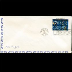 1967 UN First Day Postal Cover (STM-2627)