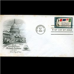 1966 US First Day Postal Cover (STM-2584)