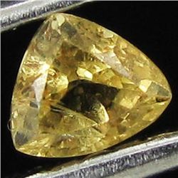 .1ct Yellow Sapphire  Trillion (GMR-1104A)