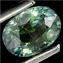 1.21ct Natural Yellowish Green Sapphire (GEM-24282)