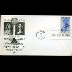 1964 US First Day Postal Cover (STM-2563)