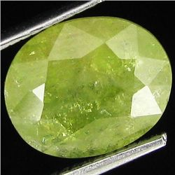 5.40ct Natural Demantoid Garnet Oval (GEM-29450)