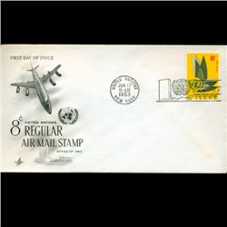 1963 UN First Day Postal Cover (STM-2440)