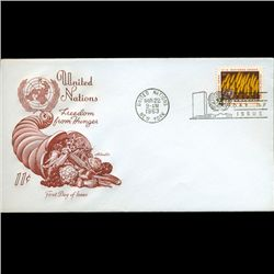 1963 UN First Day Postal Cover (STM-2435)