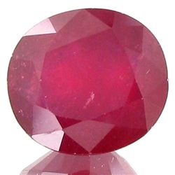 12.87ct Top Luster Blood Red Ruby Africa  (GEM-19709)