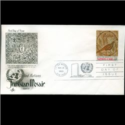 1969 UN First Day Postal Cover (STM-2777)