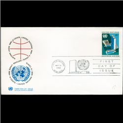 1968 UN First Day Postal Cover (STM-2745)