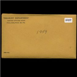 1959 Scarce Unopened Envelope Proof Set (COI-2759)