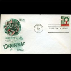1962 US First Day Postal Cover (STM-2385)