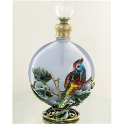 Enameled Handcrafted Perfume Bottle (CLB-1139)