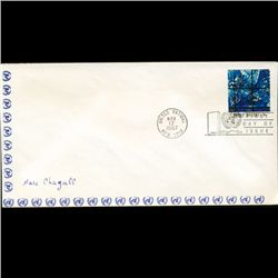 1967 UN First Day Postal Cover (STM-2638)