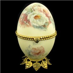 Fabrege Style Decorative Egg Photo Holder (CLB-864)