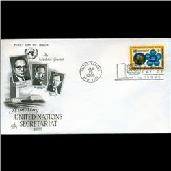 1968 UN First Day Postal Cover (STM-2728)