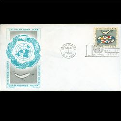 1964 UN First Day Postal Cover (STM-2531)