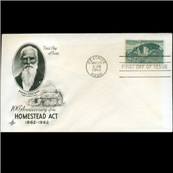 1962 US First Day Postal Cover (STM-2422)