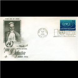 1966 UN First Day Postal Cover (STM-2579)
