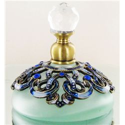 Enameled Handcrafted Perfume Bottle (CLB-1128)