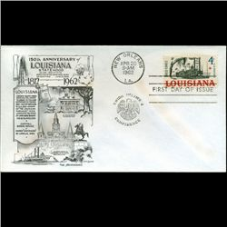 1962 US First Day Postal Cover (STM-2418)