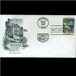 1962 US First Day Postal Cover (STM-2410)
