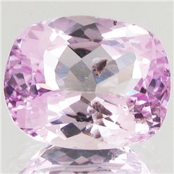 12.7ct Hot Pink Kunzite Cushion (GEM-43319)