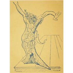 Max Ernst Original Lithograph, 1939 First Edition
