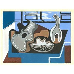 Louis Marcoussis 1929 Pochoir