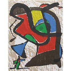Joan Miro Original Woodcut