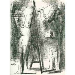 "Picasso ""The Artist And His Model Ii"" Original Lithograph"