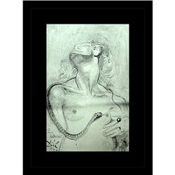 Salvador Dali Erotic Sketch Lithograph