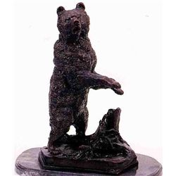 """Grizzly"" Bronze Sculpture - Liberich"