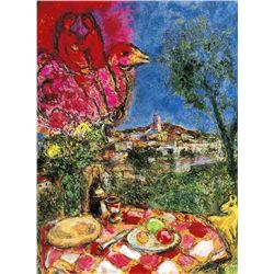 "Marc Chagall ""Lovers Over The City"""