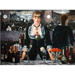 "Manet ""A Bar At The Folies Bergene"""