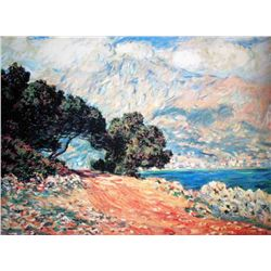 "Monet ""Cap Martin"" Ltd. Ed."
