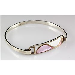 Sterling Mother of Pearl Bracelet