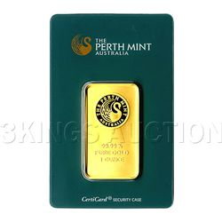 One Ounce Gold Bar Perth Mint