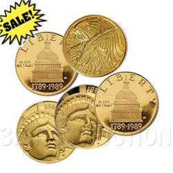 $5 Commemorative Gold (Dates Our Choice)