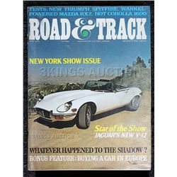 Road & Track (May 1971) Great Condition