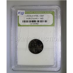 Lincoln Steel Cent INB